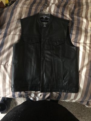 Leather Motorcycle vest for Sale in Beaverton, OR