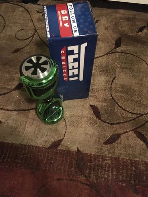 Fleetcruizer Hoverboard Green for Sale in San Francisco, CA