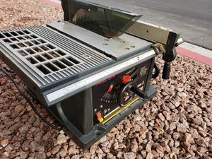 Craftsman Table Saw 10in 2.5 HP for Sale in Las Vegas, NV