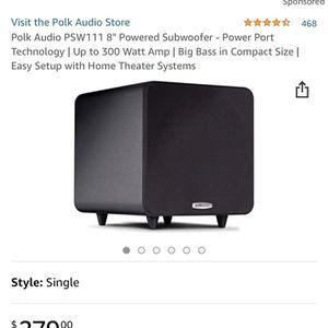 Polk Audio PSW111 for Sale in Benicia, CA