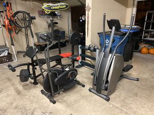 GYM WORKOUT SET for Sale in North Las Vegas, NV