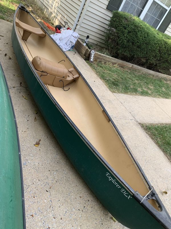 Pelican DLX Explorer Canoe