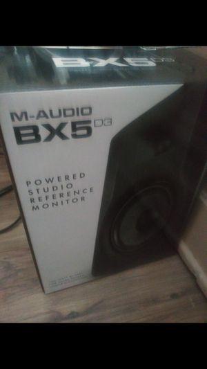 M Audio bx5D3 studio monitors Brand New for Sale in Bethlehem, PA