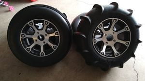 Artic cat 1000 rims and sand tires for Sale in Portland, OR