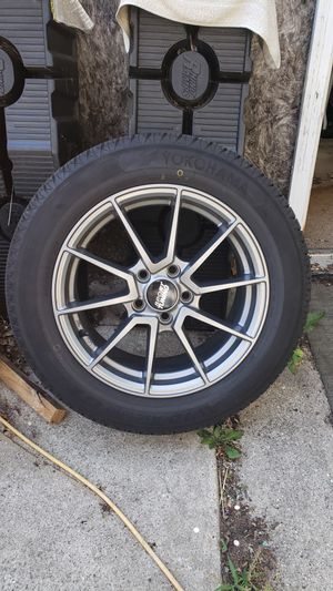 Wheels /tires 2013 ford focus for Sale in Grand Rapids, MI