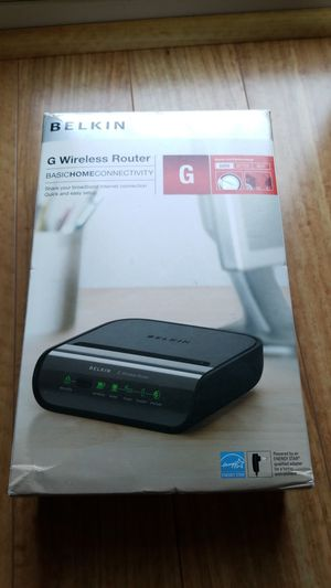 Belkin G Wireless Router for Sale in Hillsboro, OR