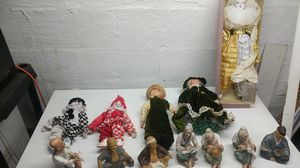 Inarco, brinns, made Japan, vtg antique figurines doll lot for Sale in Elizabeth, PA