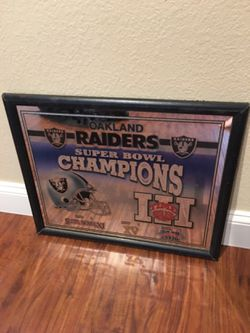 Raiders Mirror  for Sale in Elk Grove, CA