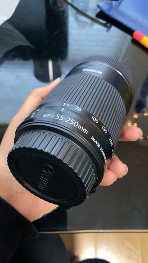 Canon EF-S 55-250mm for Sale in Champaign, IL