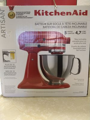 """5 qt. "" Kitchen aide tilt head stand mixer for Sale in Grand Junction, CO"