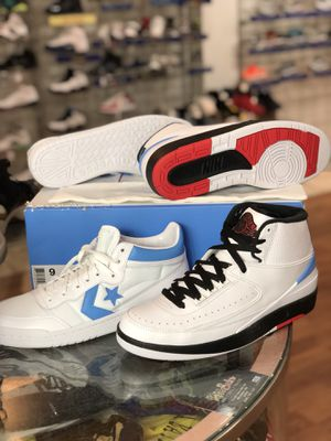 Brand new Converse Jordan pack size 9 for Sale in Silver Spring, MD