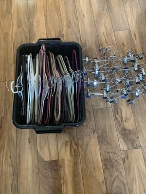Hangers over 40 count plastic and metal for Sale in Kissimmee, FL