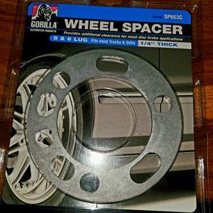 Wheel Spacers 1/4 Inch Steel for Sale in El Centro, CA