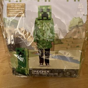 Minecraft Creeper Costume (Boys/Youth - Size M/L) for Sale in Las Vegas, NV