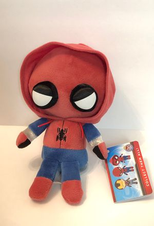 "Marvel Spider-Man Homecoming Spider-Man Collectible 6"" Plush Funko Hero Plushies New with Tags for Sale in Las Vegas, NV"