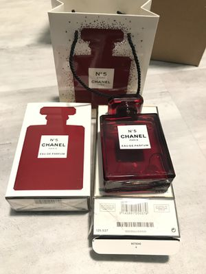No5 chanel red perfume for Sale in Westminster, CA