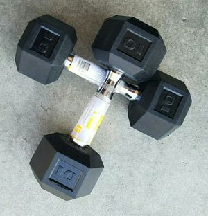 New 10lb Dumbbell Weights - Pair for Sale in Gilbert, AZ