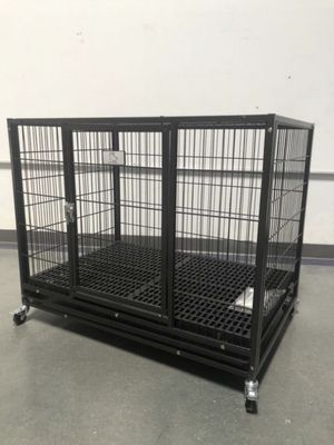 """NEW! 37"""" Plastic Floor Grid Heavy-Duty Dog Cage (Kennel) (Crate)🇺🇸 brand new in factory sealed box. for Sale in Las Vegas, NV"""