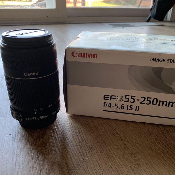 Canon EFS 55-250mm f/4-5.6 IS II