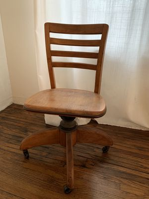 Antique Teachers' Desk Chair for Sale in Los Angeles, CA