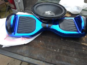 Blue blue tooth hoverboard for Sale in San Antonio, TX