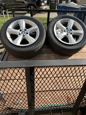 2007 BMW X5 tire and rims for Sale in Midlothian, VA