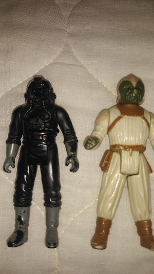 Star wars tie pilot and other star wars rare action figures for Sale in Dallas, TX