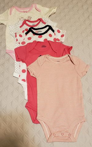 Brand New Girl Onsies 6-9m for Sale in Everett, WA