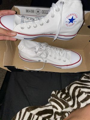 Brand new all white womens converse size 9 for Sale in Federal Heights, CO