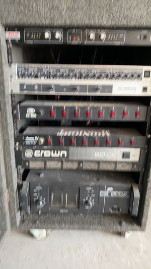 Peavey crown amplifiers will part out dj equipment for Sale in Los Angeles, CA