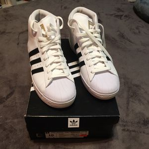 Adidas Superstar Pro Model High Top for Sale in Grand Prairie, TX