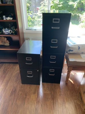 Filing cabinets for Sale in Brooks, OR