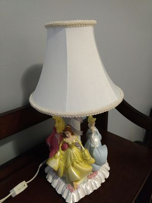 Disney princess lamp for Sale in Lancaster, OH