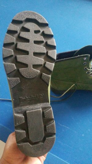 Size 10 Green Timberland Boots for Sale in Garner, NC