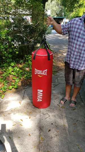 Everlast Mma punching bag for Sale in Tampa, FL
