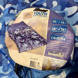 Northwest Territory Sleeping Bag - Youth for Sale in Spring Valley, CA