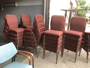 Stackable chairs for Sale in Columbus, OH