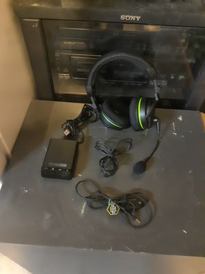 Turtle beach earforce x42 Dolby surround headset for xbox for Sale in Las Vegas, NV