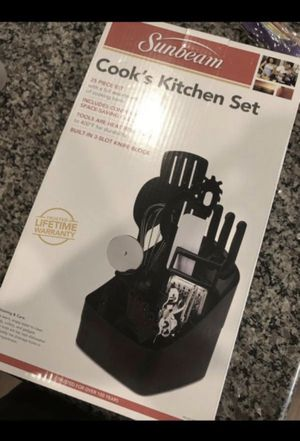 Cook's 25 Piece Sunbeam Set PRICE IS NEGOTIABLE for Sale in Riverside, CA