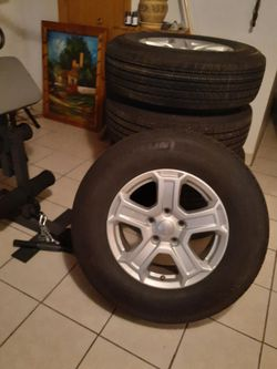 Jeep Tires with Rims for Sale in Joliet,  IL