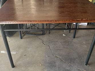 Wood Table 4 Chairs for Sale in Sylmar,  CA