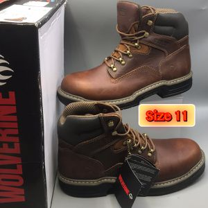 """Wolverine Raiders Men's Leather 6"""" Brown Work boot for Sale in Eatontown, NJ"""