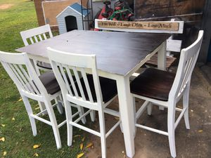 Large off white country table set for Sale in Watsontown, PA