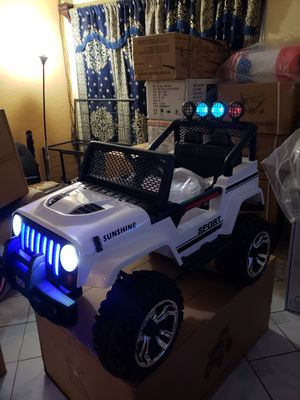 Brand new jeep w remote control and sound and light interested only for Sale in Las Vegas, NV