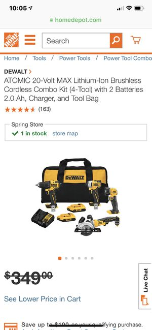 Dewalt atomic compact series drill brand new for Sale in Houston, TX
