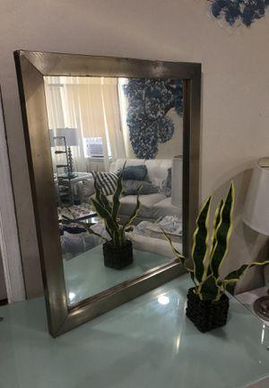 Mirror silver espejo plata for Sale in Downey, CA