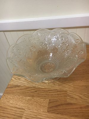 Crystal bowl for Sale in Germantown, MD