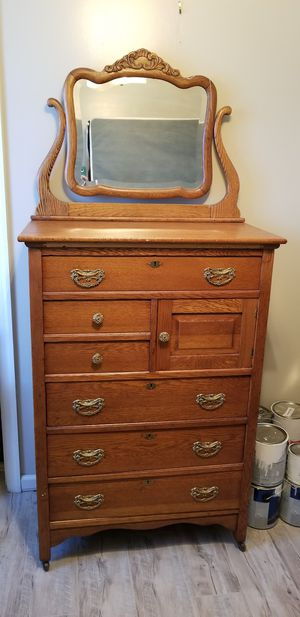 Chest of drawers antique for Sale in Martinsburg, WV