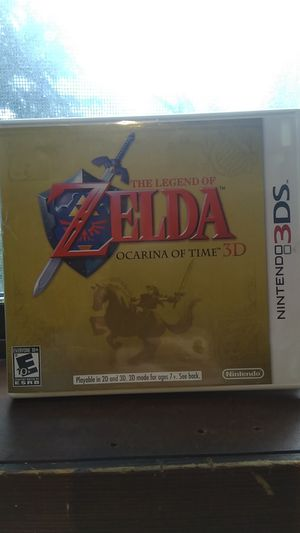Nintendo Zelda: Ocarina Of Time for 3DS or 2DS for Sale in Woodinville, WA