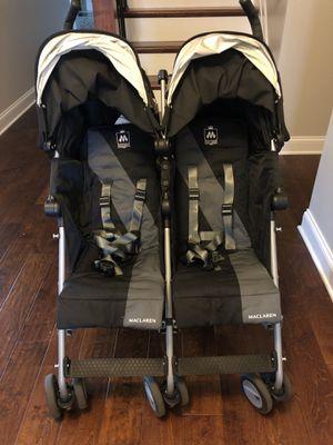 Double stroller-Maclaren for Sale in Kernersville, NC